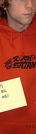 """The Touch of Satan"" hoodie"